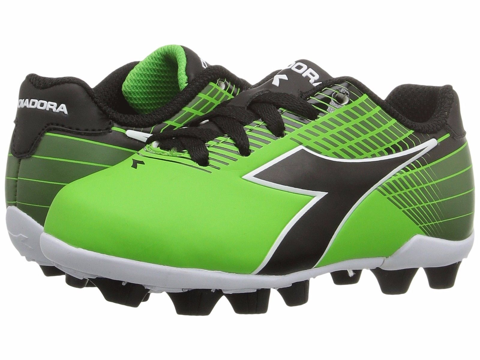 53db131f5e37 S l1600. S l1600. Previous. Diadora Ladro MD JR Soccer Cleats Lime Green /  Black Toddler Kids Youth Sizes