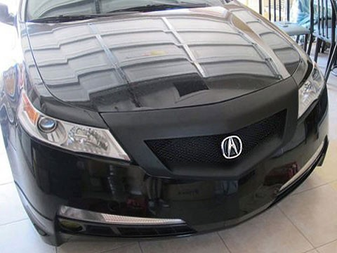 Front Hood Bumper Sport Mesh Grill Grille Fits Acura TL 09 10 11 2009 2010 2011