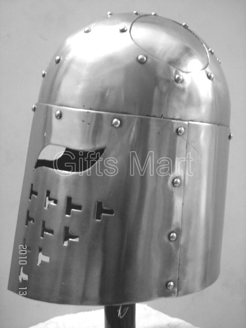 Medieval Spangen Helmet Militaria knight Helmets + Liner Collectible armour Gift