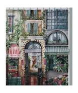 Vintage Shower Curtain French Boulevard Retro Art Bathroom Decor Waterpr... - $22.56