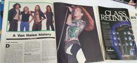 Vtg Heavy Metal Magazine Lot 8 Circus Creem 1982 1983 Van Halen Led Zeppelin image 4