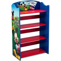 Bookshelf Mickey Mouse Kids Organizer Storage B... - $58.16