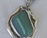 Hand made green pendant thumb155 crop