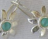Mini light blue sun earrings thumb155 crop