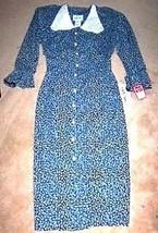 Sz 12M - Robert Daniel Long Sleeve Hunter Green Dress Sz 12M - $23.74