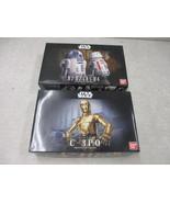 Bandai Star Wars C3PO AND R2-D2 / R5-D4 1/12 scale Plastic Model Kits - $59.40