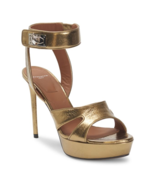 Givenchy Shark Stiletto Metallic Platform Sandals 39 MSRP: $1125.00 - $791.99