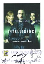 An item in the Entertainment Memorabilia category: INTELLIGENCE CAST AUTOGRAPHED 8x10 RP PHOTO MARG HELGENBERGER ORY HOLLOWAY +