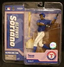 MCFARLANE MLB 11 ALFONSO SORIANO TEXAS RANGERS CHASE - $17.77