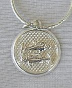 Primary image for Pisces round pendant