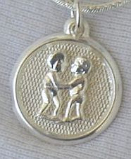 Primary image for Gemini round pendant