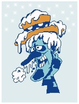 Snow Miser Crochet Graph Afghan Pattern - $5.00