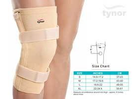 Tynor Knee Cap with Rigid Hinge for Support of Side Splint Free Flexion Movement - $17.14+