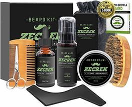 Best 9 in 1 Beard Grooming & Growth Kit w/Beard Oil,Beard Shaping Tool,Beard Was image 3