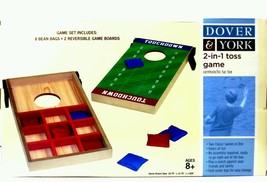 Dover & York 2 in 1 toss Game Cornhole tic tac toe free shipping - $24.27