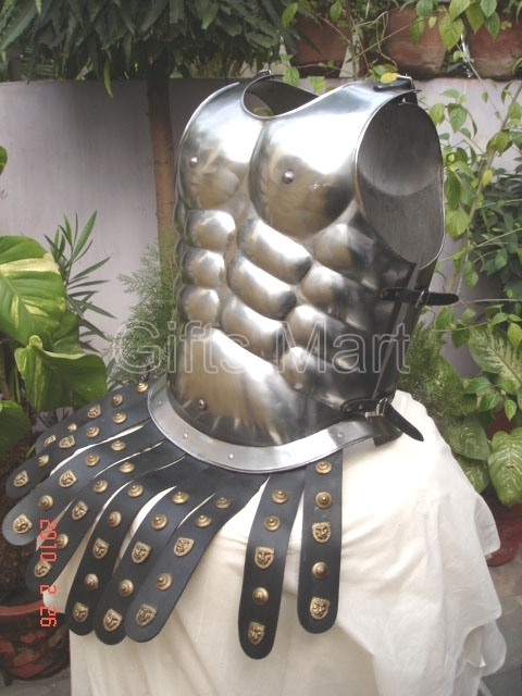 ROMAN BREASTPLATE IRON CHESTPLATE MEDIEVAL CUIRASS ARMOR Halloween COSTUME Dress