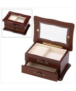 Jewelry keepsake vanity Chest fabric lining 4 i... - $11.50