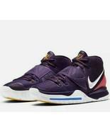 Nike Kyrie 6 Grand Purple/White Men's Basketball Shoe Enlightment BQ4630... - $69.99