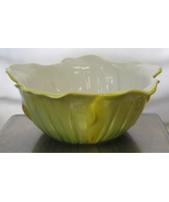 Vintage Petal Shaped Yellow Bowl by WCL  - $45.00