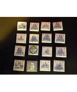 Ceramic Tiles Lot 1-1/2 Inches Square  - $16.00