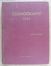 Cosmography 1930: Work Sheets by Thomas McIver - $20.00