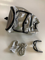 Barbie Millicent Roberts collection doll accessories silver backpack and... - $10.00