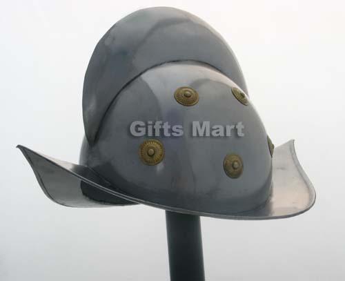 SPANISH MORION HELMET - Conquistador Costume - MEDIEVAL Reenactment Armour Sca