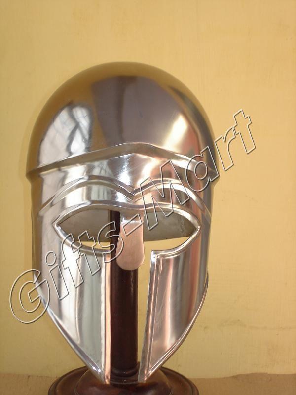 SPARTAN CORINTHIAN HELMET - Steel Warrior Costume Helm - Geek Armor Helmets