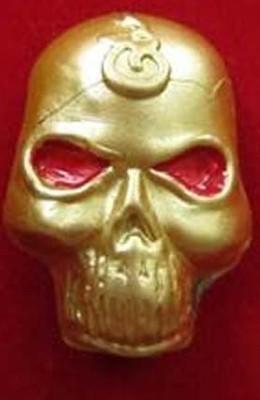 Thai Amulets Mask/NaKak PrayTong MaHaSanaeh(Ong Kroo)AJ.Nhang Pray -Thong