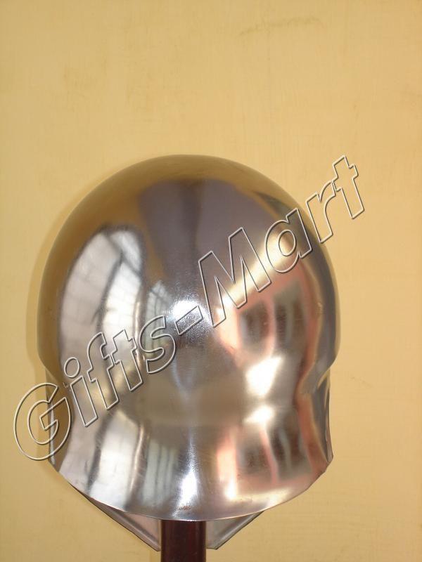 SPARTAN CORINTHIAN HELMET - Steel Warrior Costume Helm - Medieval Armor Helmets