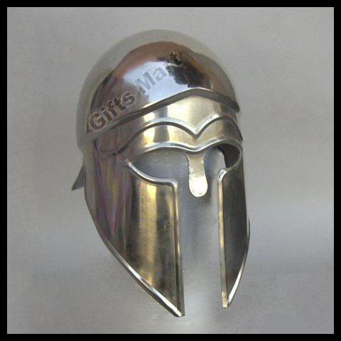 "SPARTAN Greek CORINTHIAN HELMET 13.5"" Medieval Collectible Helmets Lowest Price"