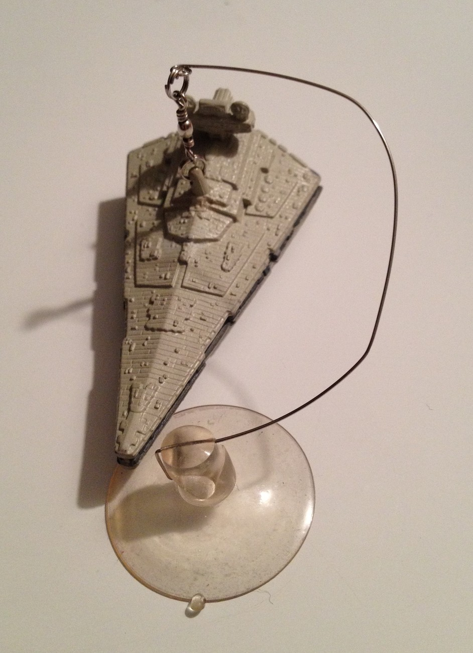 Star Wars Episode I Collectible Dangler Imperial Star Destroyer Applause - NEW