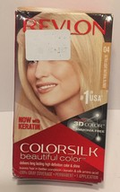 Revlon Colorsilk With Keratin Permanent Hair Dye #04 Ultra Light Natural... - $8.90