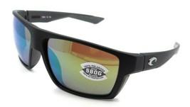 Costa Del Mar Sunglasses Bloke Matte Black - Matte Gray / Green Mirror 580G - $245.00