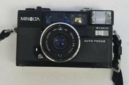 Minolta HI-MATIC AF2-M 35mm Film Camera w/ 38mm F2.8 Lens Untested For P... - $19.79