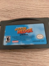 Nintendo Game Boy Advance GBA Over The Hedge image 2