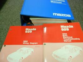 1995 mazda 929 service repair workshop manual set factory oem body etm ewd - $29.54