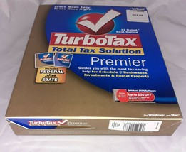 Intuit™ TurboTax™ Premier 2005 Federal Plus STATE for Windows & Mac - $24.99