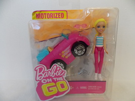 Barbie on the Go Motorized Car and Doll  - $20.00