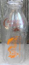 Crescent Dairy Duraglas One Quart Milk Bottle - $18.00