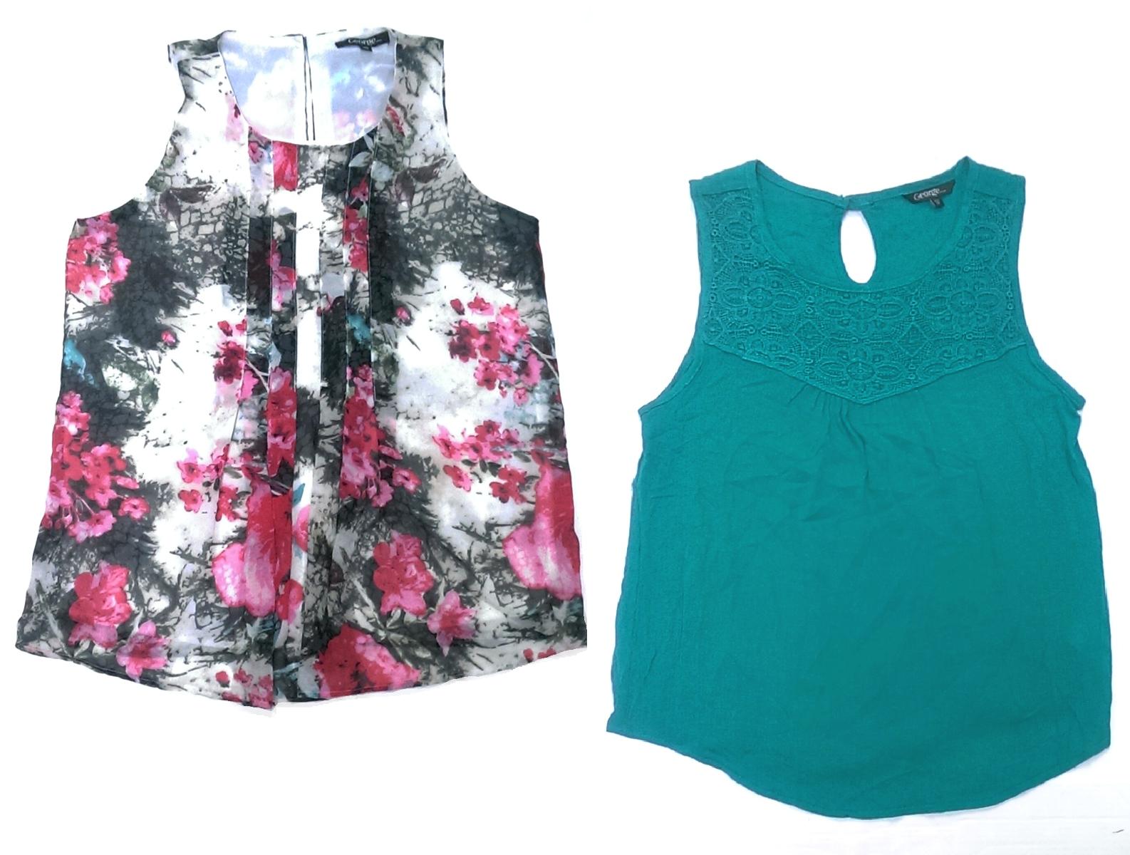 f94ffcc595c6b 2 Womens George Sleeveless Fashion Tank Tops and 21 similar items. S l1600
