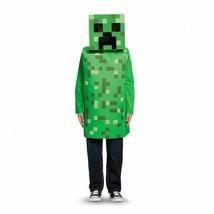 Disguise Minecraft Creeper Jeu Vidéo Masque Haut Enfants Déguisement Hal... - $30.44