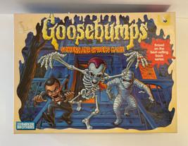 Vintage Goosebumps Shrieks and Spiders Game Complete 1995  - $14.36