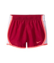 Nike Girls Running Shorts Dri Fit Bright Pink Swoosh Size 6 NWT - $9.75