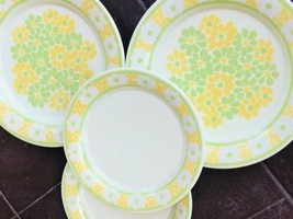 Franciscan Ware Picnic Plates set of 4 Dinner Salad Plate - $24.74