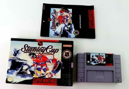 SNES NHL Stanley Cup w/Box & Manual (Super Nintendo, 1993) Tested - $7.95