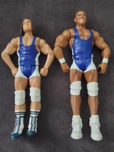 Chad Gable & Jason Jordan ~ Battle Pack Series #48 ~ Mattel WWE Action F... - $9.79
