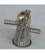 Windmill silver miniature - $33.00