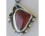 Red agate hand made pendant thumb155 crop