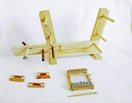 30 inch Inkle Loom with 3 shuttles and 5 inch Mini Loom with 2 Weaving N... - $91.77 CAD